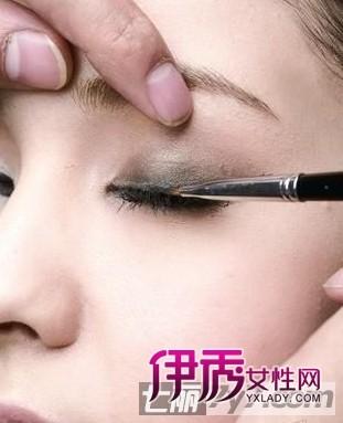 眼部化妆技巧 超详图解如何画眼线