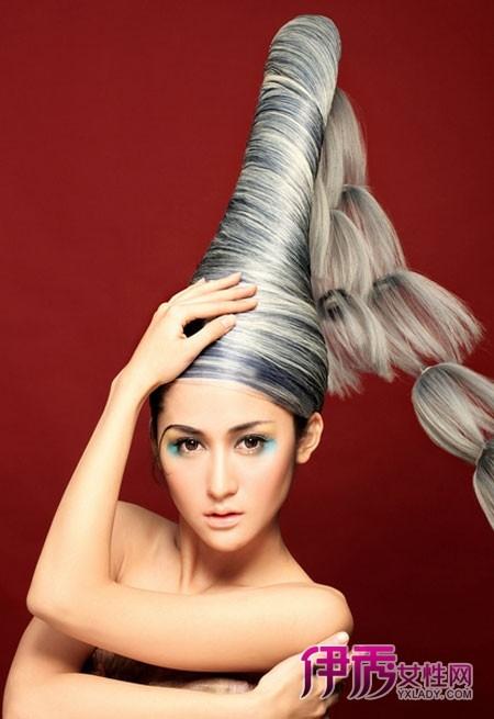 时尚创意盘发 让你大饱眼福