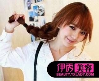 超美韩式发型扎法  引爆今夏潮流