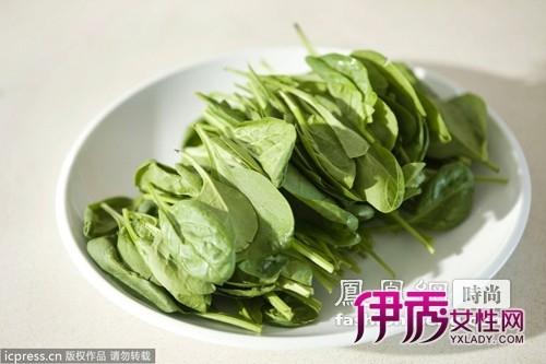 营养低卡菠菜减肥消水肿