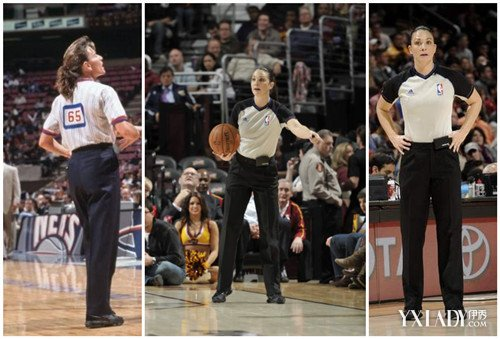 NBA最美女裁判