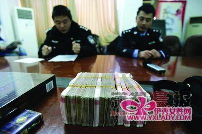 2月17日,长沙县公安局,警方查获的被盗财物。图/记者华剑