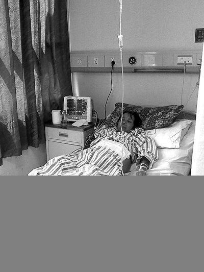 经过医护人员的积极救治,再次入院后的吴远碧状态比之前好了许多