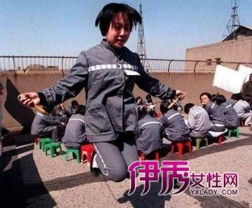 揭秘中国女囚犯监狱生活图片