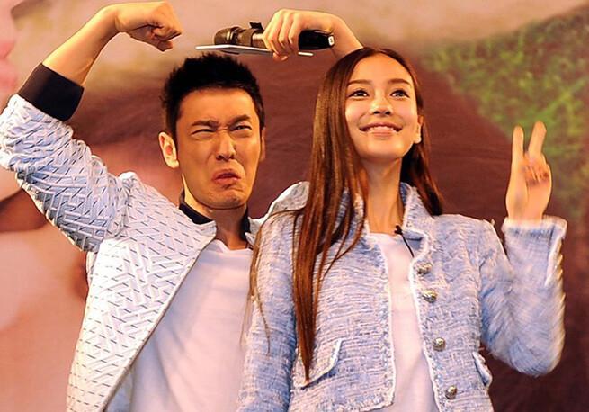 黄晓明探班 Angelababy:这对夫妻算是娱乐圈真爱吗?_黄晓明